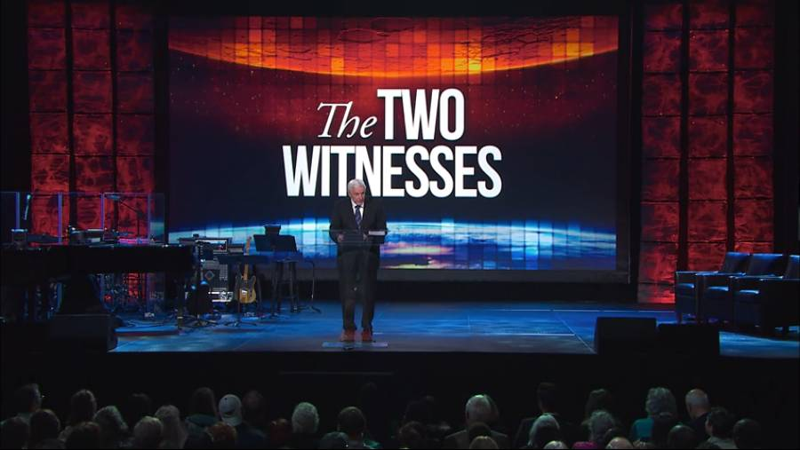 The Two Witnesses Testify