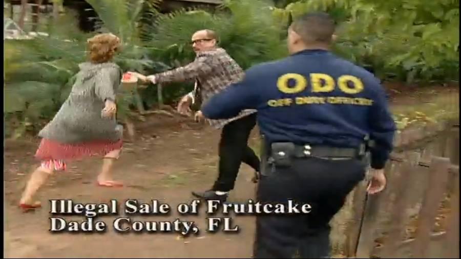 Anyone for fruitcake?