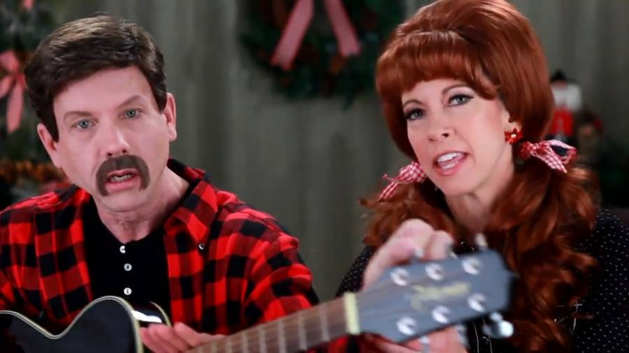 """The """"Twelve Days of Christmas"""" with Dwayne and Peanut"""