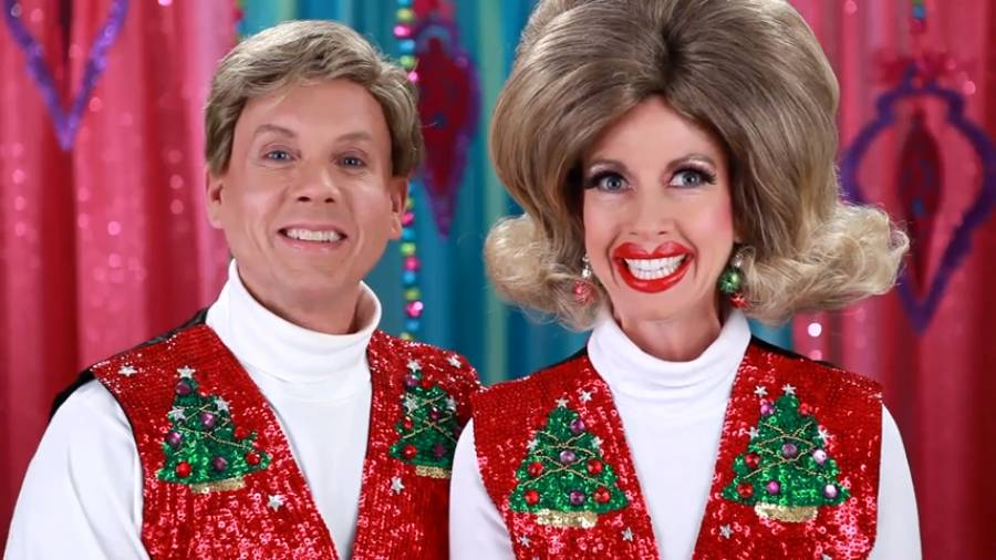 Dan and Jan have a bedazzled Christmas!