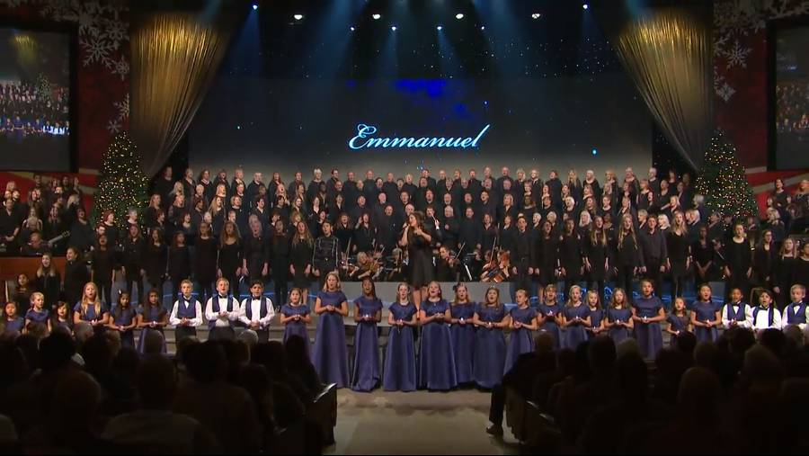 """Emmanuel"" with voices of children and adults"