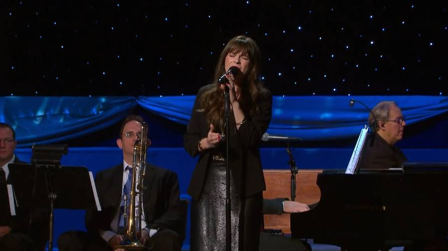 """Holly Abeel sings """"All is Well"""""""