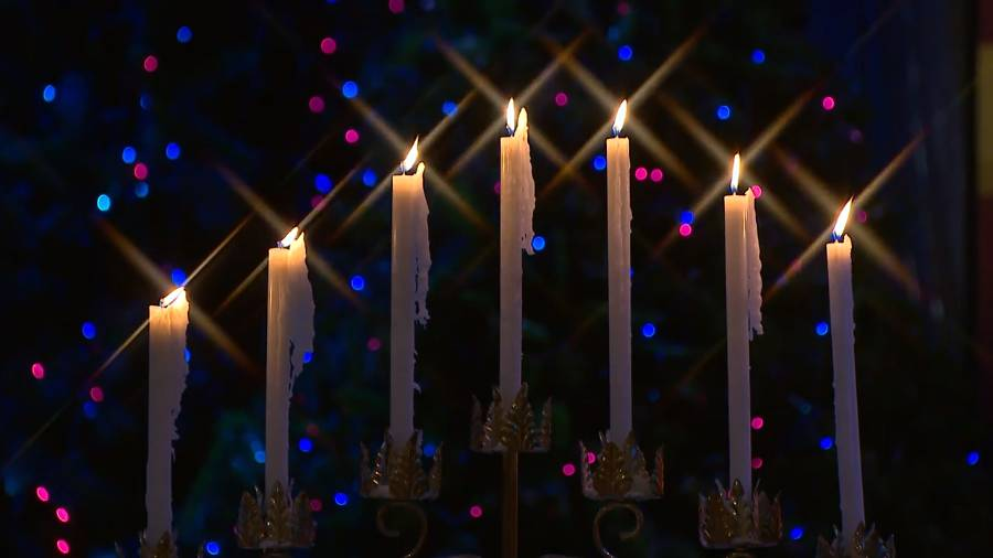 """Holly Abeel and Michael Sanchez sing """"The Spirit of Christmas"""""""