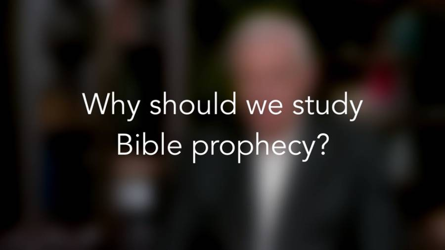 Why should we study Bible prophecy?
